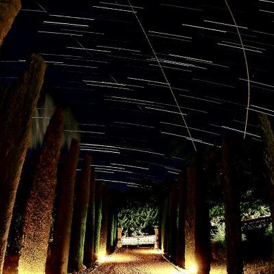Ciel étoilé au Mas d'Abelan